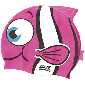 Zoggs Character Bathing Cap Children pink/white